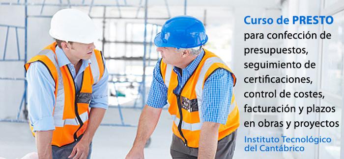 Curso de presto para realizaci n de presupuestos control for Proyecto de construccion de aulas de clases
